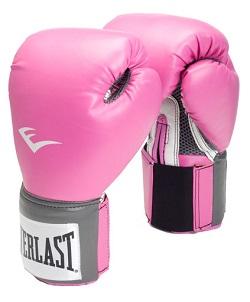 Rosa boxningshandskar