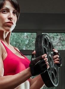 Bra handskar till gymträning