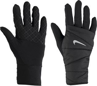 NIKE - Quilted Running Gloves